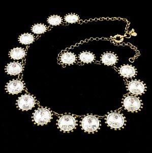 J. Crew Necklace Crystal Venus Flytrap Necklace